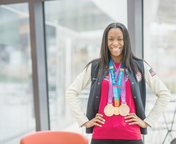Q&A: DeeDee Trotter- Viver Como Uma Atleta Olímpica